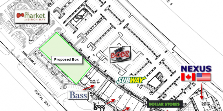 Salon site plan